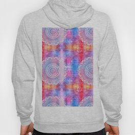 Modern Abstract Mandala Flower Hoody