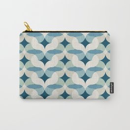 Currents in Blue Carry-All Pouch
