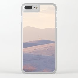 New Mexico Solitude Clear iPhone Case
