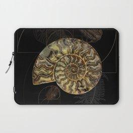 Ammonite Trilobite Fibonacci Spiral Laptop Sleeve