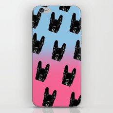 Asia (blue&pink pattern) iPhone Skin
