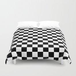 Checkered Flag Duvet Cover