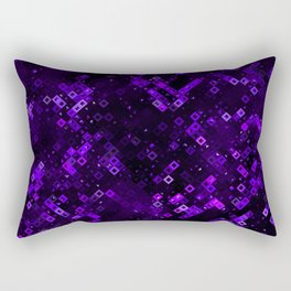 Violet Pattern Rectangular Pillow