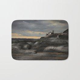 Steampunk / Burtonesque Coastal Fort Bath Mat
