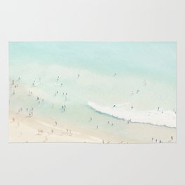beach summer fun Rug