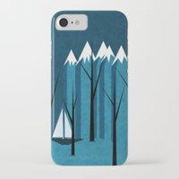 sailing iPhone & iPod Cases featuring Sailing by Illusorium