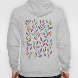 Leafy Twigs - Multicolored Hoody
