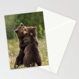 Bear hug Stationery Cards