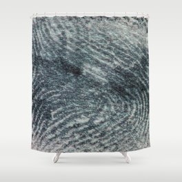 Left Behind Shower Curtain
