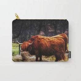 Hairy Coo Carry-All Pouch