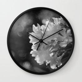 Noir Garden Wall Clock