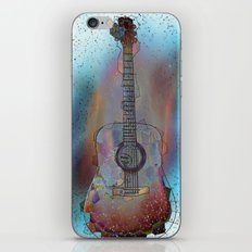 Ziggy Stardust iPhone & iPod Skin
