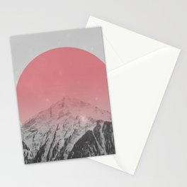 Dreaming of Pink Mountains Stationery Cards