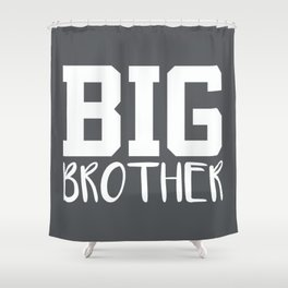 Big Brother, Pregnancy Reveal Shower Curtain