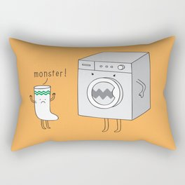 sock eating monster Rectangular Pillow