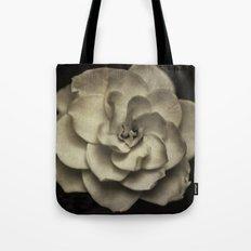Vintage B/W Gardenia Tote Bag