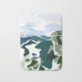 green mountains Bath Mat