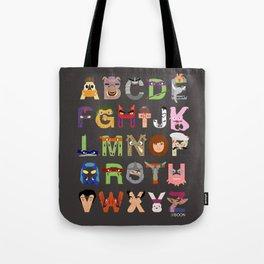 TMNT ABCs Tote Bag