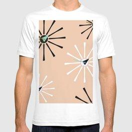 Fifties Kitchen Peach Pattern T-shirt