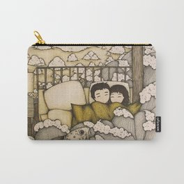 swept away & stranded Carry-All Pouch