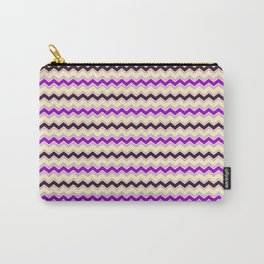 Chevron Happy Night pattern Carry-All Pouch
