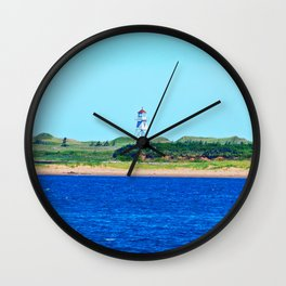 Range Light on Stilts Wall Clock