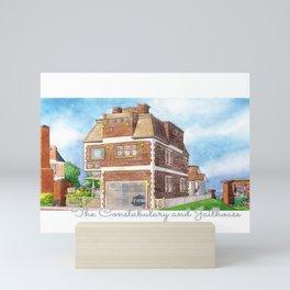 The Constabulary and Jailhouse Mini Art Print