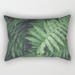 Fern Bush Nature Photography | Botanical | Plants Rectangular Pillow