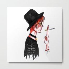 Bowie No.3 Metal Print