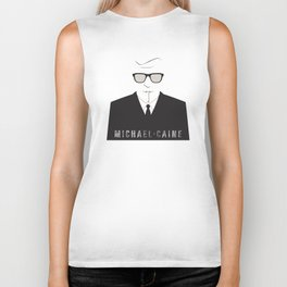 inspired by song .. michael caine Biker Tank