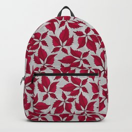 Autumn Leaves (Dove Grey) Backpack