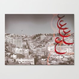 Amman City Canvas Print