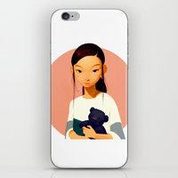 chihiro iPhone & iPod Skins featuring Chihiro by Samuel Youn