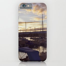 sunset in Geneva iPhone Case