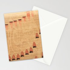 The Music of Words Stationery Cards