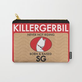 Killer Gerbil Red Tubing Carry-All Pouch