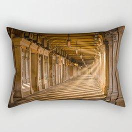Venice – Sunrise under the arcades of Piazza San Marco Rectangular Pillow