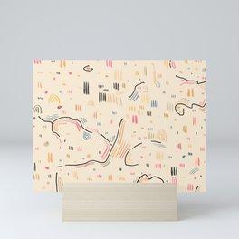 A Place to sit at Canyon Mini Art Print