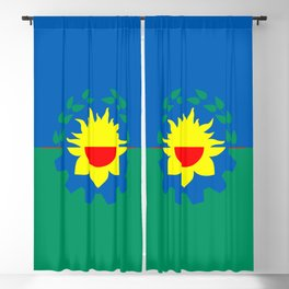 flag of Buenos Aires (Province) Blackout Curtain