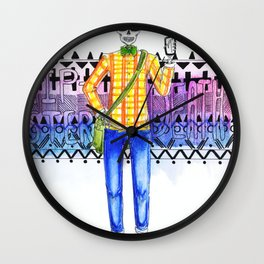 Hipster Death Wall Clock