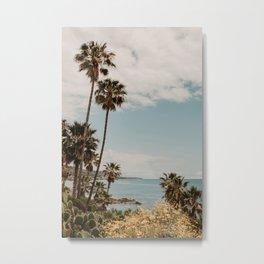 Laguna Beach ocean view   Fine Art Travel Photography Metal Print