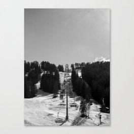 DESERTED STATION Canvas Print