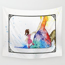 We've Found The Princess! Wall Tapestry
