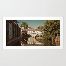 Romantic Nuremberg Art Print