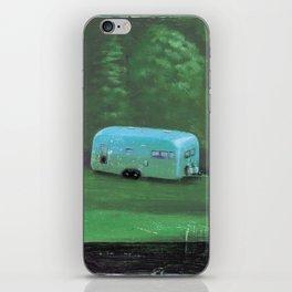 airstream trailer - by phil art guy iPhone Skin