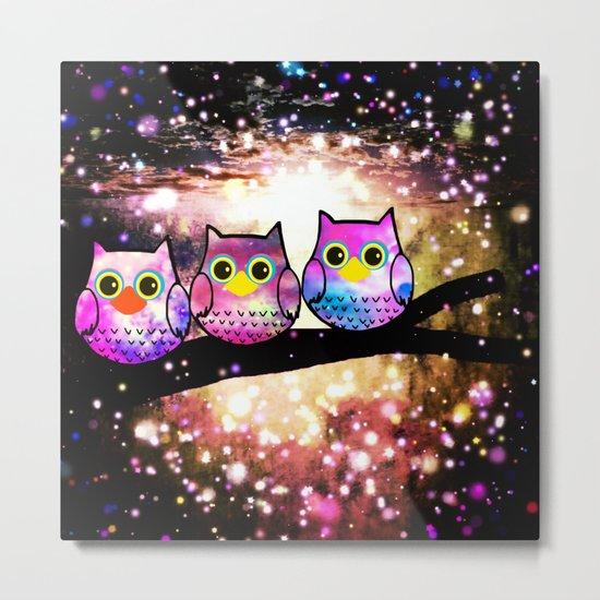 owl-100 Metal Print