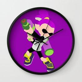 Inkling Boy (Purple) - Splatoon Wall Clock