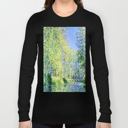 Monet: Bend in the River Ept Long Sleeve T-shirt