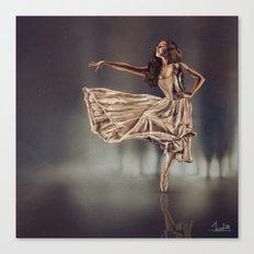 Ballereal Canvas Print