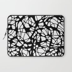 black curves Laptop Sleeve